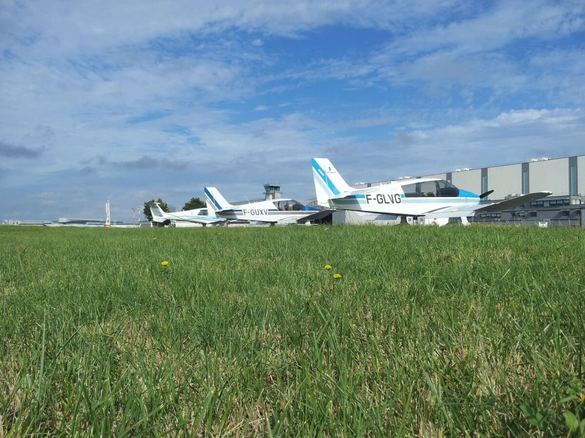 Les avions de l'aéroclub de l'estuaire