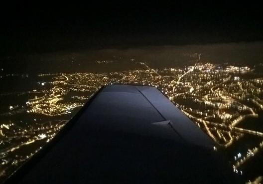 Vannes de nuit en bout d'aile