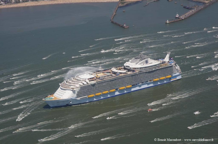 Le 15 mai 2016 – Départ de l'Harmony of the Seas
