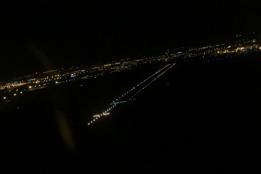 Opération FFA Vol de nuit