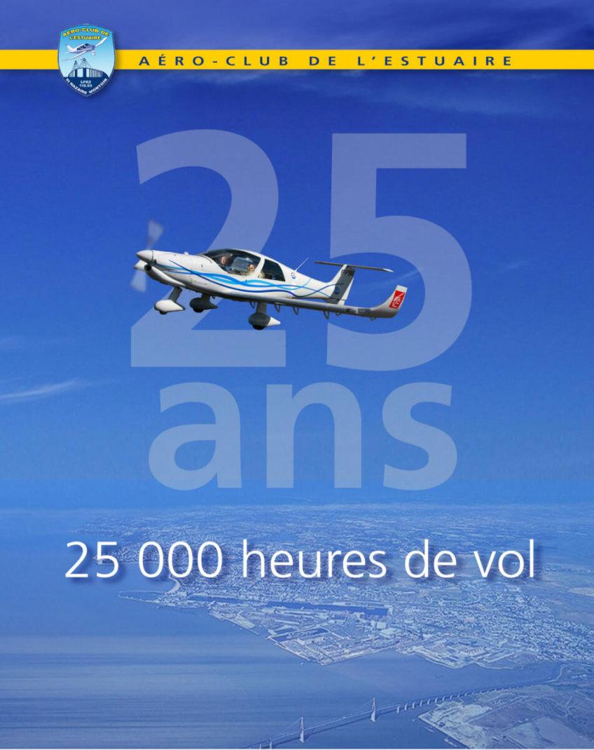 Le 15 janvier 2017 – L'aéroclub fêtait ses 25 ans