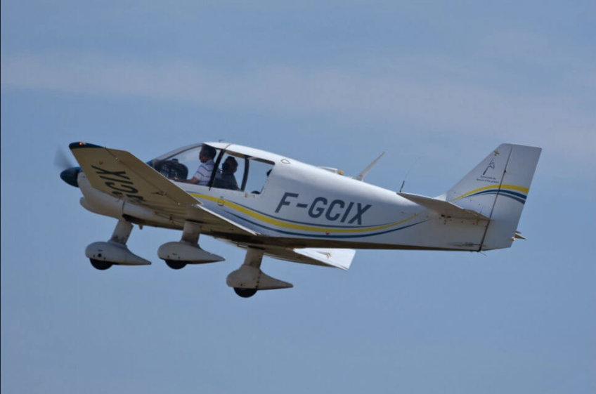 Un nouvel avion F-GCIX