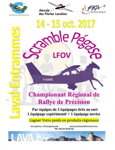 Rallye Scramble Pégase à Laval