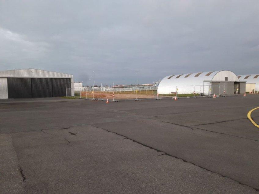 Nouveau hangar !