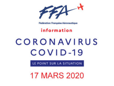 17 MARS COVID19 – CONSIGNES FEDERALES