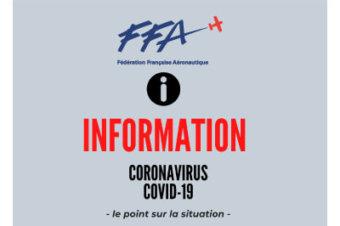 COVID19 – CONSIGNES FÉDÉRALES FFA