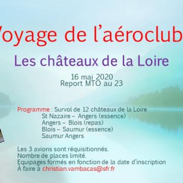 Sortie ACE: les châteaux de la Loire