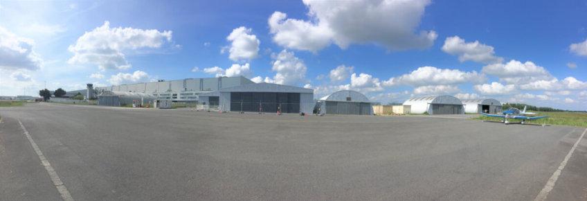 Dernières photos du hangar (07 mai 2020)