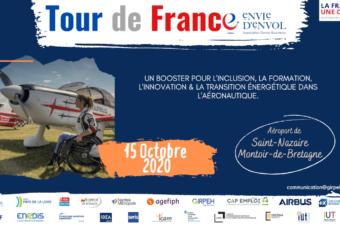 Tour de France «Envie d'envol» le 15 octobre 2020