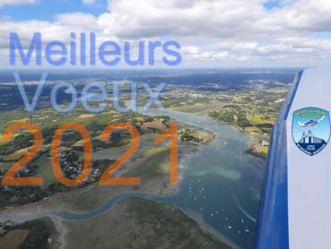 L'Aéroclub de l'Estuaire vous souhaite ses meilleurs vœux pour 2021 !